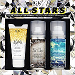 IGK All Stars Volume, Hydration And Dry Shampoo Kit