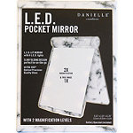 Danielle LED Pocket-Sized Mirror Marble