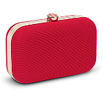ARMANI Free Red Clutch with select large spray purchase
