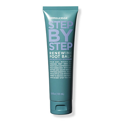 Step By Step Renewing Foot Balm