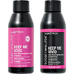 Matrix FREE Travel Size Total Results Keep Me Vivid Shampoo and Conditioner with any $35 Hair Color purchase