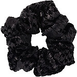 Scünci Black Velvet Pony Tail Scrunchie