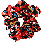 Scünci Coral Camo Pony Tail Scrunchie