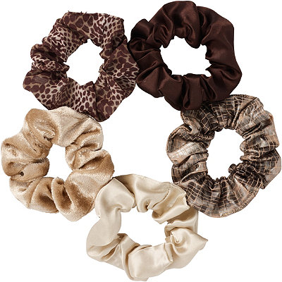 Neutral Pony Tail Scrunchies