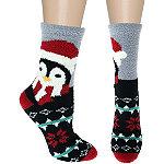 Capelli New York 7'' Penguin Slipper Sock