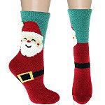 Capelli New York 7'' Santa Slipper Socks