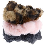 Capelli New York Faux Fur Twisters