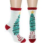 Capelli New York 7'' Get Lit Slipper Socks