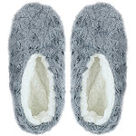 Capelli New York Bunny Fur Pull-On Slipper Socks