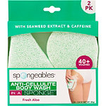 Spongeables Anti-Cellulite Body Wash in a Sponge 2 Pack