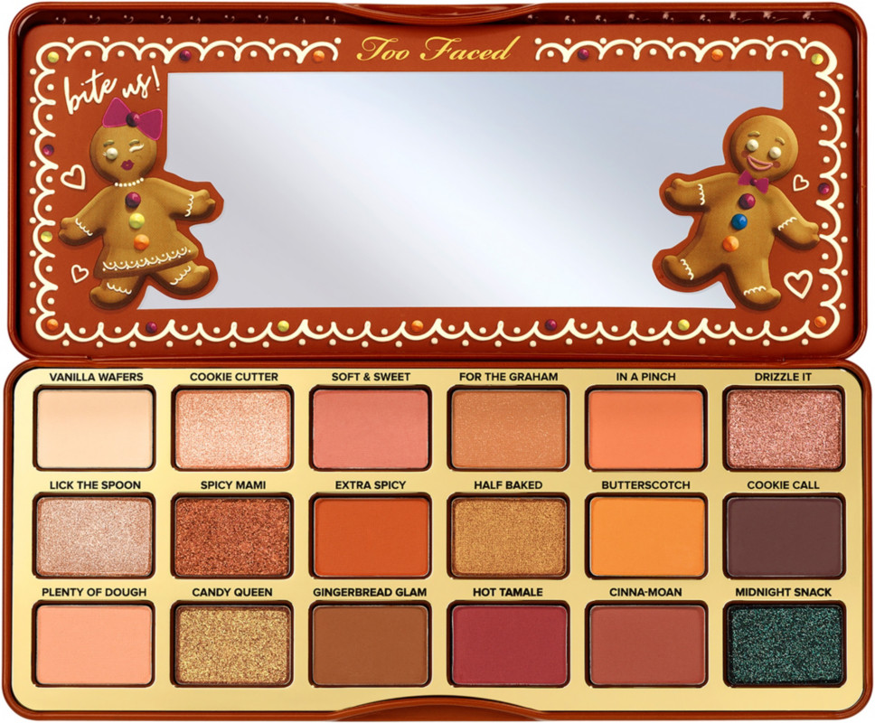 Limited Edition Gingerbread Extra Spicy Eye Shadow Palette by Too Faced
