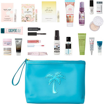 FREE 20 Pc Ocean Breeze Beauty Bag with any 80 online purchase