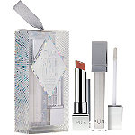 PÜR Crystal Clear 2-Piece Lipstick + Lip Gloss Kit