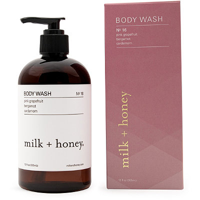 Pink Grapefruit, Bergamot, Cardamom Body Wash No.16