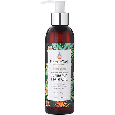 Online Only African Citrus Bloom Superfruit Hair Oil
