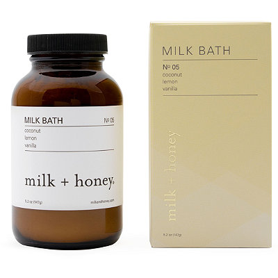 Online Only Lemon, Vanilla Milk Bath No.05