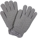 David And Young Diamond Pattern Cozy Glove