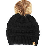 David And Young Lined Beanie With Pom