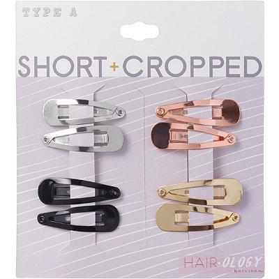 Hairology Mini Non Slip Snap Clips
