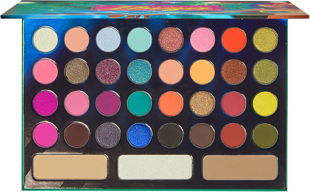 Take Me To Ibiza   35 Color Shadow Palette by Bh Cosmetics