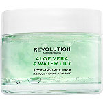 REVOLUTION SKINCARE Online Only Aloe Vera & Water Lily Soothing Face Mask
