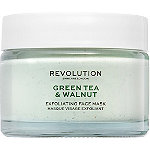 REVOLUTION SKINCARE Online Only Green Tea & Walnut Exfoliating Face Mask