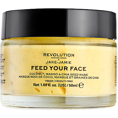 Revolution Skincare x Jake-Jamie Coconut, Mango & Chia Seed Face Mask