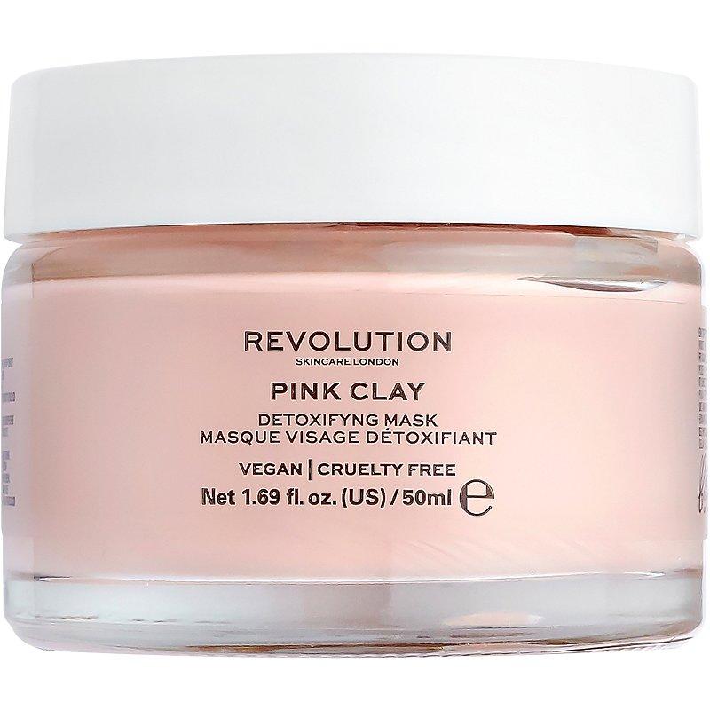Revolution Skincare Pink Clay Detoxifying Face Mask Ulta Beauty