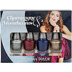 Morgan Taylor Champagne & Moobeams Glam Mini 4 Pack