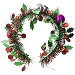 Riviera Christmas Wreath Headband