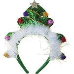 Riviera Oversized Glitter Tree Headband