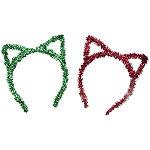 Riviera Tinsel Cat Ear Headbands