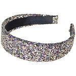 Riviera Wide Glitter Headband
