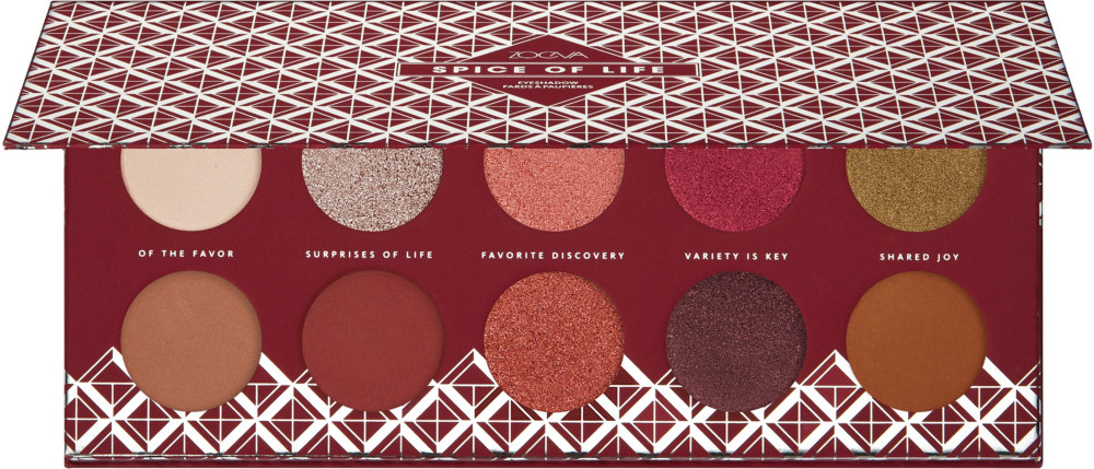 Spice Of Life Eyeshadow Palette by Zoeva