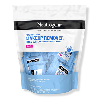 Fragrance Free Makeup Remover Cleansing Towelettes Singles