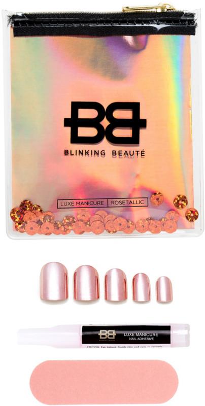 Rosetallic Luxe Manicure