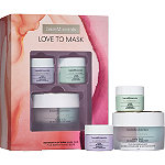 bareMinerals Online Only Love to Mask Be Bright & Be Firm Mask Duo + Bonus Travel Sizes