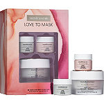 bareMinerals Online Only Love to Mask Be Pure & Be Dewy Mask Duo + Bonus Travel Sizes