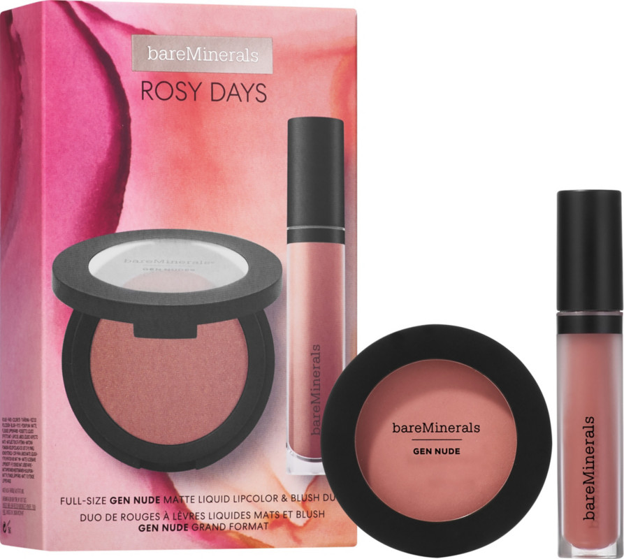 Online Only Rosy Days Lip & Cheek Duo by Bare Minerals