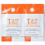 Tan Towel Free 2 Pack Half Body Towelettes with brand purchase