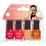 Orly Online Only Neon Earth 4 Piece Mini Kit