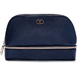 Caboodles Navy Dual Travel Organizer