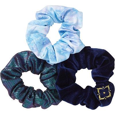 Disney Frozen II Blue Metallic Scrunchies