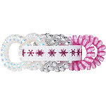 Scünci Disney Frozen II Pink Spiral Ponytailers With Ribbon Keeper