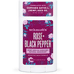 Schmidts Rose + Black Pepper Sensitive Skin Natural Deodorant