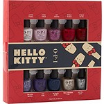 OPI Online Only - Hello Kitty Nail Polish Collection, Nail Lacquer Mini 10 Piece Gift Set