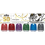 China Glaze Online Only Sesame Street 50th Anniversary Holiday Collection 6 Piece