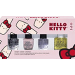 OPI Hello Kitty Nail Treatment Mini 4 Pack