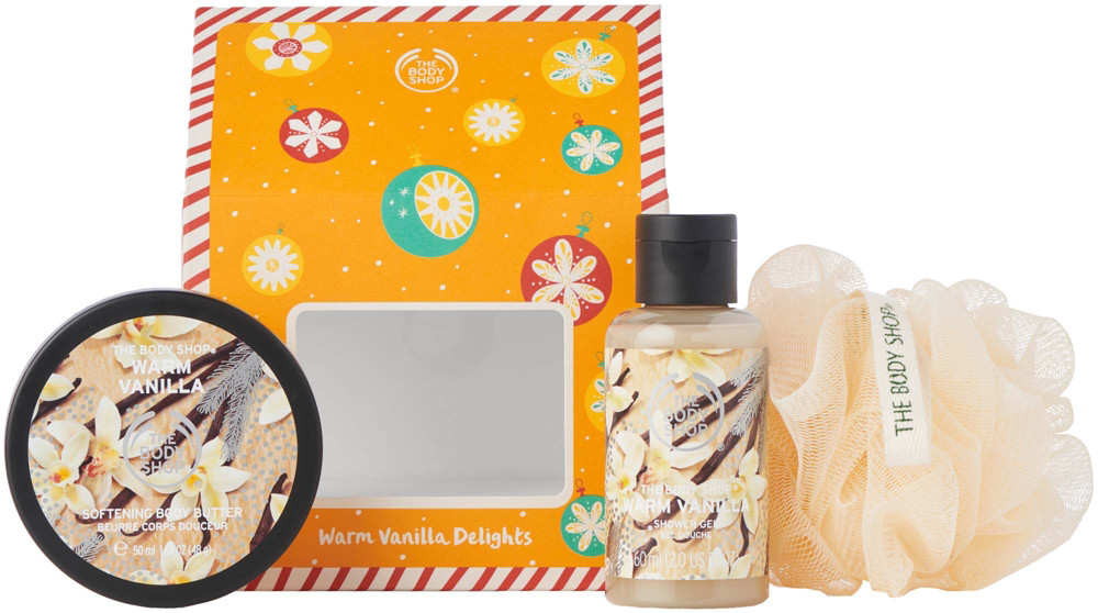 Christmas Gift Sets Body Shop.Warm Vanilla Delights Gift Set