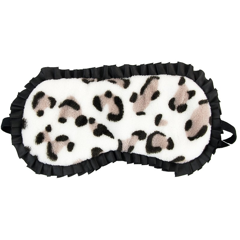 Leopard Print Sleep Mask by the vintage cosmetic company #3